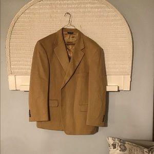 Haspel Men's 100% Camels Hair Sports Coat